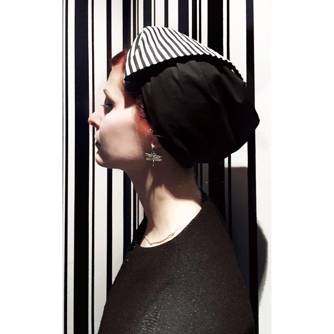 Tripping on stripes headpiece by lamiabillie bandana stripes striped colourgamehellip